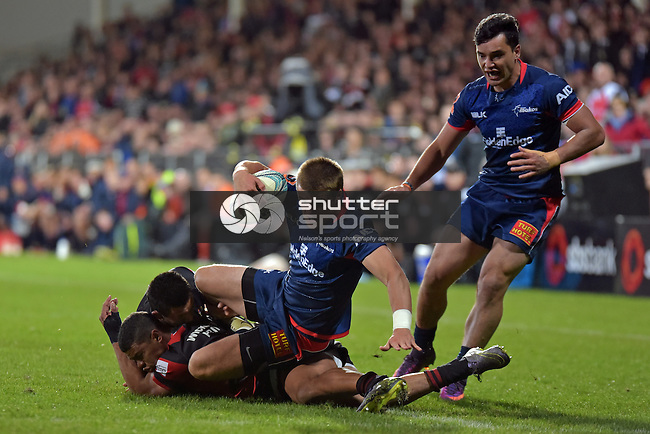 CHRISTCHURCH, NEW ZEALAND - OCTOBER 29: 2016 Mitre 10 Cup Premiership Final, Canterbury v Tasman, AMI Stadium, Christchurch, New Zealand. Saturday 29 October 2016.   (Photo by: Barry Whitnall Shuttersport Limited)