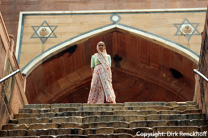 Humayun's Grab, Delhi, Indien, Unesco-Weltkulturerbe