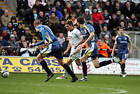 Pictured: Gorka Pintado of Swansea City in action <br /> Re: Coca Cola Championship, Swansea City FC v Cardiff City at the Liberty Stadium. Swansea, south Wales, Sunday 30 November 2008.<br /> Picture by D Legakis Photography / Athena Picture Agency, Swansea 07815441513