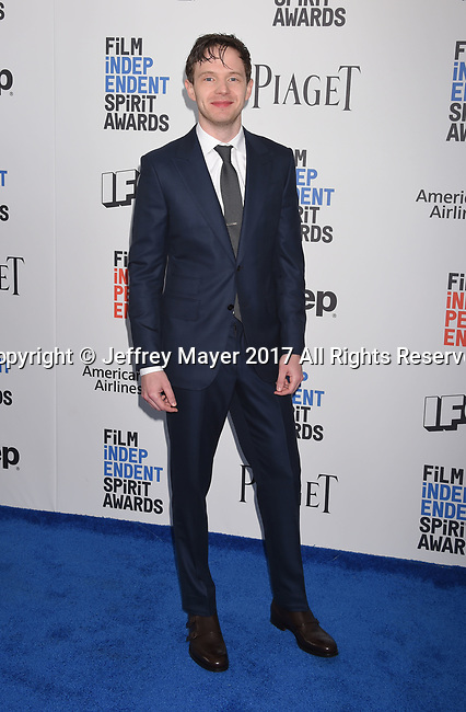 SANTA MONICA, CA - FEBRUARY 25: Actor Mark O'Brien attends the 2017 Film Independent Spirit Awards at the Santa Monica Pier on February 25, 2017 in Santa Monica, California.