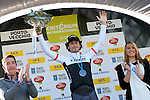 Fabio Felline (ITA) Trek Factory Racing first wins Stage 2, a 7km time trial, of the 2015 Criterium International held in Porto-Vecchio, Corsica, France. 30th March 2015.<br /> Photo: Trek Factory Racing/www.newsfile.ie