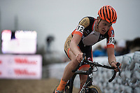 Tim Merlier (BEL/VastgoedService-Golden Palace)<br /> <br /> Jaarmarktcross Niel 2015  Elite Men &amp; U23 race