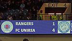 201009 Rangers v Unirea Urziceni