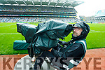 Bill Corkey, from St Johns Park in Tralee operates the High Speed Camera in Croke Park on Match Days.