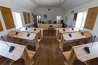 Royaume-Uni, îles Anglo-Normandes, île de Sark (Sercq) :  La Cour du Sénéchal. ou se réunit le gouvernenemt de l'Ile // United Kingdom, Channel Islands, Sark Island (Sercq)   Seneschal's Court
