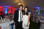 Cardiff Blues - British Lions dinner at Cottrell Park.<br /> Ben Mottram &amp; Kira Gurnam<br /> 12.09.13<br /> <br /> &copy;Steve Pope-SPORTINGWALES
