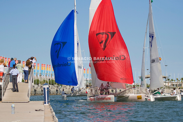 9th Trophée Clairefontaine, Saturday 13 and Sunday 14 September 2008, Marina Juan Carlos I, Valencia,Spain -
