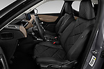 Front seat view of a 2019 DS DS 3 Crossback Grand Chic 5 Door SUV front seat car photos