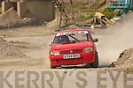 the action at the Autocross last Sunday afternoon in Doyle's Sand Pit, Killarney organised by Killarney & District Motor club (KDMC)