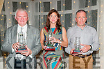 Kerry Athletics Awards Night: Pictured at the Kerry Athletics Awards night at the Listowel Arms Hotel on Saturday night last were Martin Fitzgerald representing his daughter Claire, Annett O'Brien & James Cronin representing his daughter  Kayleigh Cronin.