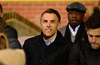 England Women Manager Phil Neville attends the FAWSL fixture between Chelsea Ladies & Man City Women at the Cherry Red Records Stadium, Kingston, England on 1 February 2018. Photo by PRiME Media Images.