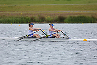 Race: 306  Event: J16G 2x Time Trial<br /> <br /> National Schools Regatta 2019<br /> Sunday<br /> <br /> To purchase this photo, or to see pricing information for Prints and Downloads, click the blue 'Add to Cart' button at the top-right of the page.