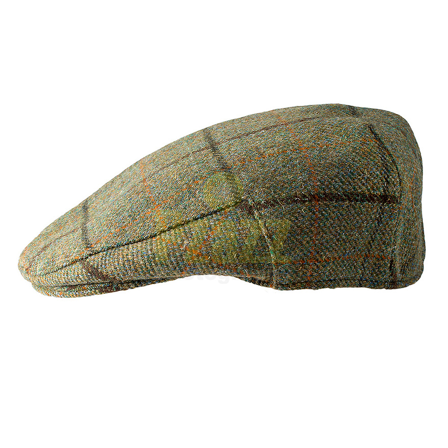 Studio photograph of the Kirby British Wool Tweed Cap