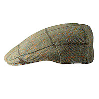 Studio photograph of the Kirby British Wool Tweed Cap