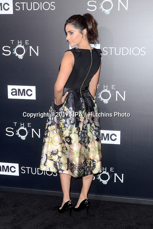 "LOS ANGELES - APR 3:  Paola Nunez at the AMC's ""The Son"" Season One LA Premiere at ArcLight Theater on April 3, 2017 in Los Angeles, CA"