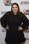 Beanie Feldstein attends the opening night performance of the MCC Theater's 'Alice By Heart' at The Robert W. Wilson Theater Space on February 26, 2019 in New York City.