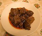 Meat Dish, Mario Restaurant, Florence, Tuscany, Italy