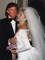 New York City<br /> 1993 <br /> Donald and Marla Trump<br /> Photo By John Barrett-PHOTOlink.net/MediaPunch
