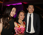 Maia and Alex Shibutani with Celia Chou - Figure Skating in Harlem's Champions in Life (in its 21st year) Benefit Gala recognizing the medal-winning 2018 US Olympic Figure Skating Team on May 1, 2018 at Pier Sixty at Chelsea Piers, New York City, New York. (Photo by Sue Coflin/Max Photo)