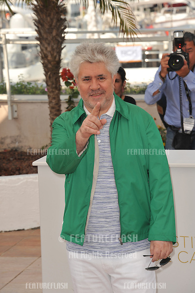 "Director Pedro Almodovar at the photocall for his new movie ""The Skin I Live In"" which is in competition at the 64th Festival de Cannes..May 19, 2011  Cannes, France.Picture: Paul Smith / Featureflash"