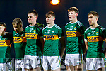 Kerry players before the Allianz Football League Division 1 Round 3 match between Kerry and Dublin at Austin Stack Park in Tralee, Kerry on Saturday night.