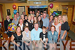 Liam Horgan,O'Rahilly's Villas,Tralee,who has been living in Australia for the past 24yrs,came home with his wife Carole,son Conor and daughter Phoebe to celebrate his 50th birthday with his mom Maura and many friend&family last Saturday night in Stoker's Lodge,Tralee.