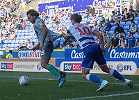 Blackburn Rovers' Bradley Dack (left) holds off the challenge from Reading's John Swift (right) <br /> <br /> Photographer David Horton/CameraSport<br /> <br /> The EFL Sky Bet Championship - Reading v Blackburn Rovers - Saturday 21st September 2019 - Madejski Stadium - Reading<br /> <br /> World Copyright © 2019 CameraSport. All rights reserved. 43 Linden Ave. Countesthorpe. Leicester. England. LE8 5PG - Tel: +44 (0) 116 277 4147 - admin@camerasport.com - www.camerasport.com