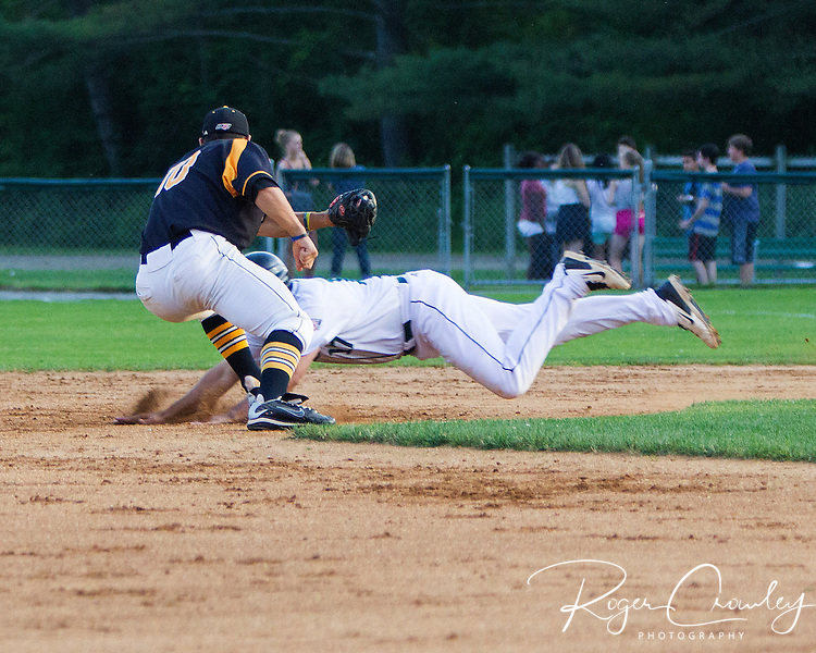 Vermont Mountaineers defeated the North Adams Steeplecats 8-2 at Montpelier Recreation Field.