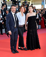 Carlo Cresto-Dina, Alice Rohrwacher &amp; Nicoletta Braschi at the closing gala screening for &quot;The Man Who Killed Don Quixote&quot; at the 71st Festival de Cannes, Cannes, France 19 May 2018<br /> Picture: Paul Smith/Featureflash/SilverHub 0208 004 5359 sales@silverhubmedia.com