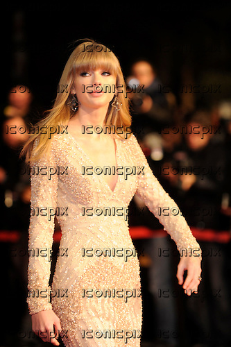 TAYLOR SWIFT - attending the 14e Editions of the NRJ Music Awards held at the Palais de Festivales in Cannes France - 26 Jan 2013.  Photo credit: Xavier Depoilly/Dalle/IconicPix  **UK ONLY**