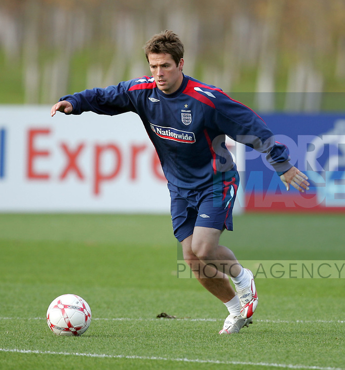 England's Michael Owen