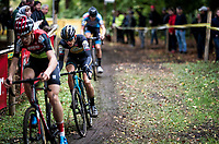 Thibaut Nys (BEL/AA-drink) on his way to win the Junior Mens Race<br /> <br /> 42nd Superprestige cyclocross Gavere 2019<br /> <br /> ©kramon