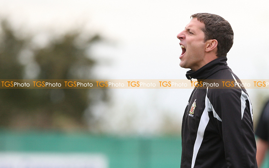 Hornchurch assistant manager John Purdie - East Thurrock vs AFC Hornchurch, Ryman League at Rockery Hill, East Thurrock - 08/10/11 - MANDATORY CREDIT: Rob Newell/TGSPHOTO - Self billing applies where appropriate - 0845 094 6026 - contact@tgsphoto.co.uk - NO UNPAID USE.