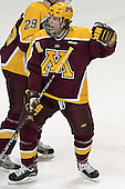 Danny Irmen - The University of Minnesota Golden Gophers defeated the University of North Dakota Fighting Sioux 4-3 on Friday, December 9, 2005, at Ralph Engelstad Arena in Grand Forks, North Dakota.