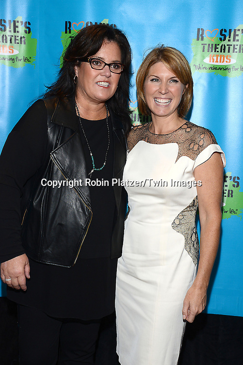 Rosie O' Donnell and Nicole Wallace attend Rosie O'Donnell's 11th Annual Rosie's Theater Kids Gala on September 22, 2014 at The New York Marriott Marquis in New York City. <br /> <br /> photo by Robin Platzer/Twin Images<br />  <br /> phone number 212-935-0770