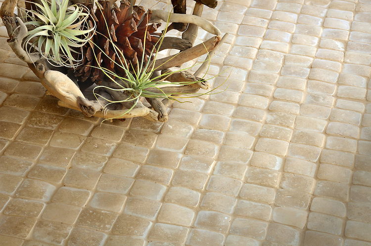 Giovanni Barbieri 2 x 2 in. Time Worn Travertine Noce.<br /> *Special order material. Not kept in stock.  Please allow 16 weeks for delivery.