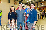 At the Official Opening  of World of Tiles, Manor Tralee on Saturday were Laura Brosnan, Michaela Brosnan, Mark Leane, Donnacha Brosnan and Denis Brosnan from Caherslee, Tralee