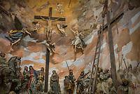 il Sacro Monte della Beata Vergine del Soccorso, Ossuccio, sul lago di Como, è composto da 14 cappelle, costruite dal 1635 al 1710. Fanno parte dei Monti Sacri della Lombardia inseriti dell'Unesco nella lista dei Patrimoni dell'Umanità