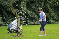 Julieanna Morris (Warrenpoint) during the final  of the Ulster Mixed Foursomes at Killymoon Golf Club, Belfast, Northern Ireland. 26/08/2017<br /> Picture: Fran Caffrey / Golffile<br /> <br /> All photo usage must carry mandatory copyright credit (&copy; Golffile | Fran Caffrey)