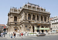 HUN, Ungarn, Budapest, Stadtteil Pest, Zentrum: Ungarische Staatsoper | HUN, Hungary, Budapest, Pest District, centre: Hungarian State Opera House