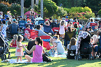 NWA Democrat-Gazette/J.T. WAMPLER Several hundred people gather for an Opera in the Ozarks presentation of Cinderella Tuesday June 5, 2018 at the Botanical Garden of the Ozarks in Fayetteville. Cinderella stars a cast of Opera in the Ozarks studio artists and features the music of Rossini and other famous composers. There is another performance today ((WEDNESDAY)) at the Rogers Public Library and tomorrow ((THURSDAY JUNE 7)) at the Walton Life Fitness Center in Bentonville. All performances are free.