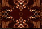 Fractal Waveguide, Fractal Composite, Upper Antelope Canyon, Tse-Bighanilini, Slot Canyon, Lake Powell Navajo Tribal Park, Page, Arizona