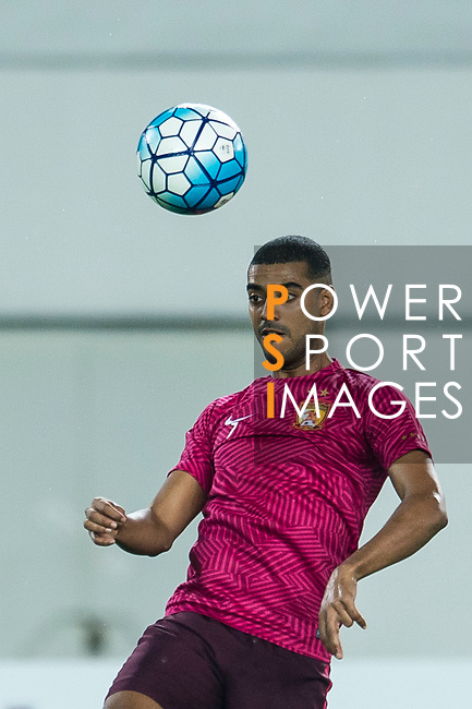 Guangzhou Forward Alan Douglas De Carvalho warming up during the AFC Champions League 2017 Round of 16 match between Guangzhou Evergrande FC (CHN) vs Kashima Antlers (JPN) at the Tianhe Stadium on 23 May 2017 in Guangzhou, China. (Photo by Power Sport Images/Getty Images)