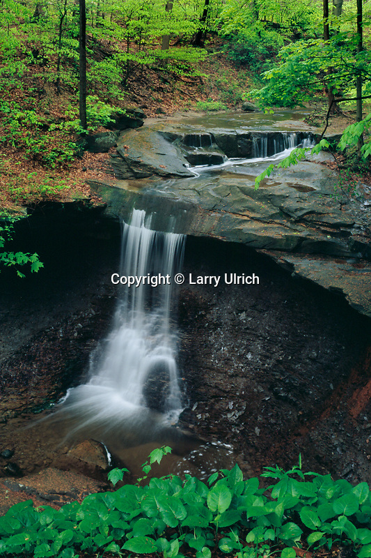 Blue Hen Falls<br /> Cuyahoga Valley National Park <br /> Summit County<br /> Ohio