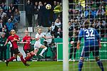 01.05.2019, RheinEnergie Stadion , Köln, GER, DFB Pokalfinale der Frauen, VfL Wolfsburg vs SC Freiburg, DFB REGULATIONS PROHIBIT ANY USE OF PHOTOGRAPHS AS IMAGE SEQUENCES AND/OR QUASI-VIDEO<br /> <br /> im Bild | picture shows:<br /> Flanke durch Caroline Graham Hansen (VfL Wolfsburg #26), <br /> <br /> Foto © nordphoto / Rauch