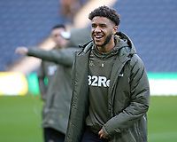 Leeds United's Tyler Roberts is all smiles before kick off<br /> <br /> Photographer David Shipman/CameraSport<br /> <br /> The EFL Sky Bet Championship - West Bromwich Albion v Leeds United - Saturday 10th November 2018 - The Hawthorns - West Bromwich<br /> <br /> World Copyright © 2018 CameraSport. All rights reserved. 43 Linden Ave. Countesthorpe. Leicester. England. LE8 5PG - Tel: +44 (0) 116 277 4147 - admin@camerasport.com - www.camerasport.com