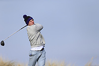John McCarthy (Stackstown) during the first round of matchplay at the 2018 West of Ireland, in Co Sligo Golf Club, Rosses Point, Sligo, Co Sligo, Ireland. 01/04/2018.<br /> Picture: Golffile | Fran Caffrey<br /> <br /> <br /> All photo usage must carry mandatory copyright credit (&copy; Golffile | Fran Caffrey)