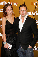 David Bisbal and Raquel Jiménez attend Marie Claire Prix de la Moda awards 2012 at French Embassy in Madrid. November 22, 2012. (ALTERPHOTOS/Caro Marin) /NortePhoto