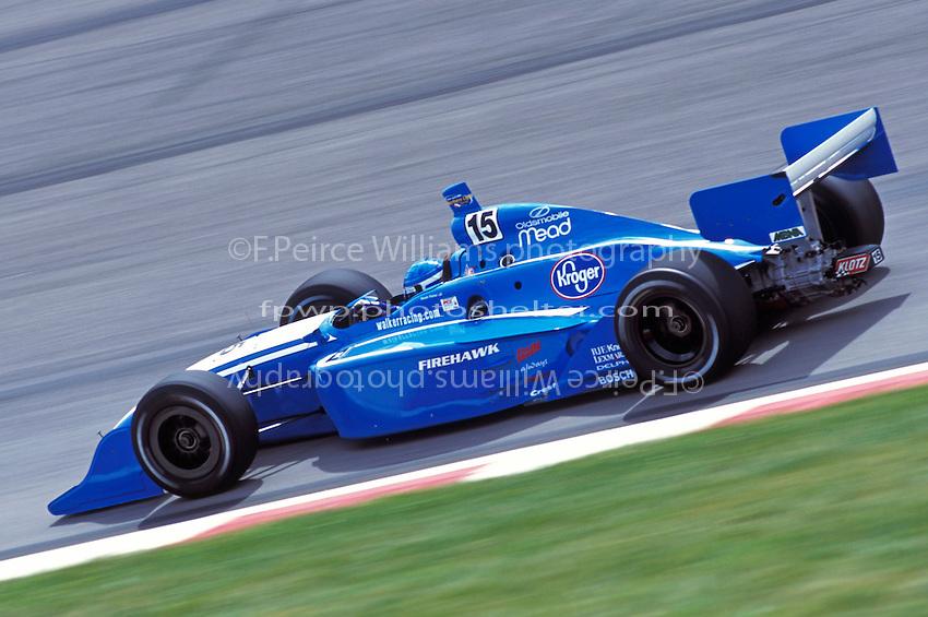 Sarah Fisher (#15) Gateway International Raceway 2001 (Indy Racing League)