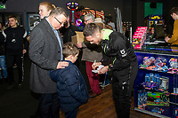 Pictured: Matt Grimes of Swansea City during the Swansea player and fans bowling evening at Tenpin Swansea, Swansea, Wales, UK. Wednesday 22 January 2020